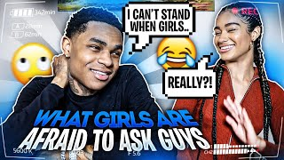 ASKING YBNALMIGHTYJAY QUESTIONS GIRLS ARE AFRAID TO ASK GUYS!