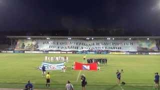 ФК Севастополь гигантский баннер - футбол
