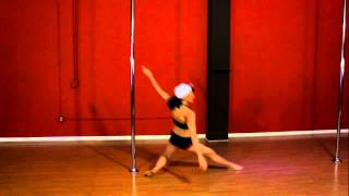 Midwest Pole Dance Competition - Masters Division 2013 - Noelle Wood