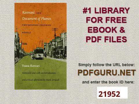 Japanese Novels Pdf