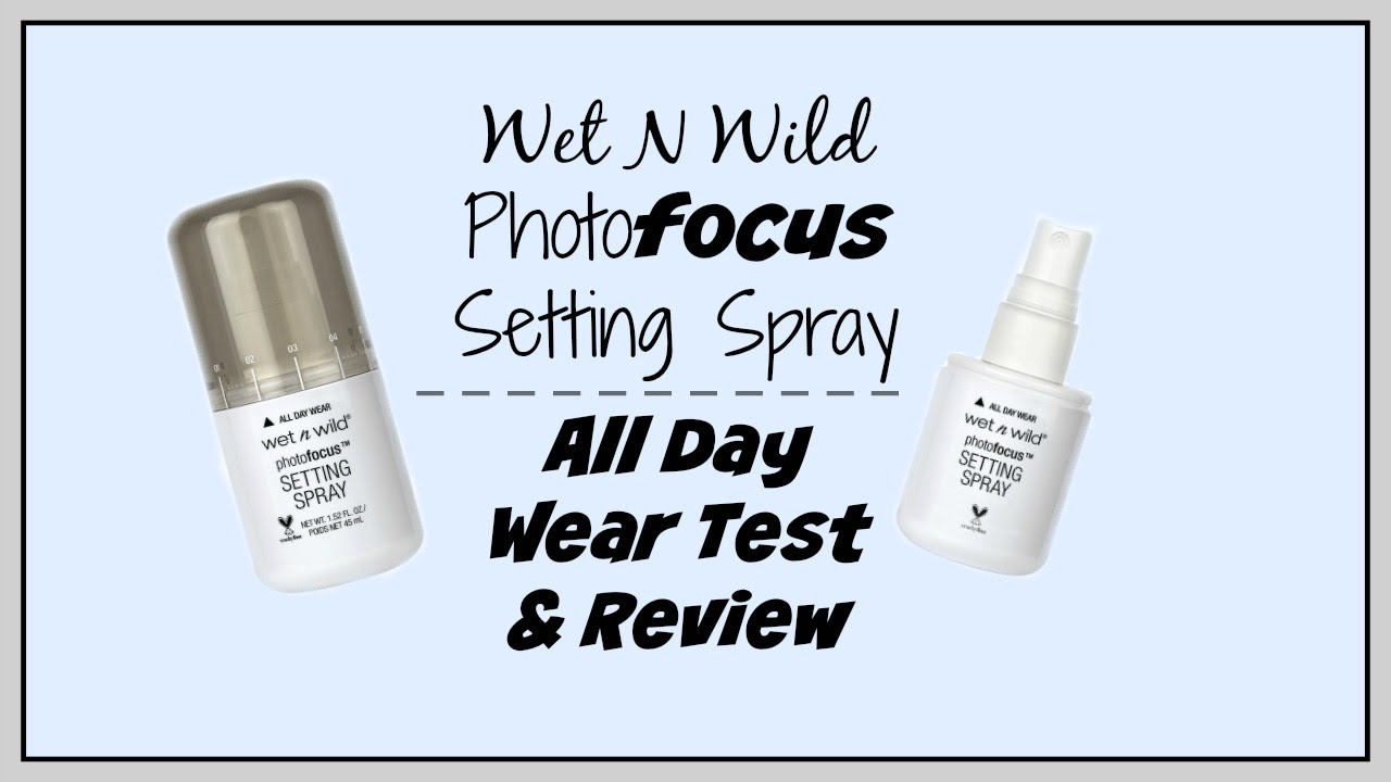 how to use setting spray wet n wild