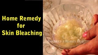 Home Remedy for Skin Bleaching Thumbnail