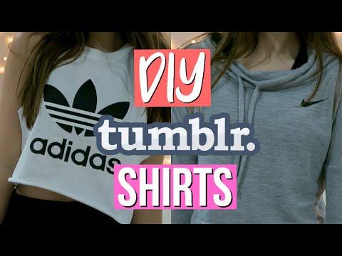 DIY Tumblr Inspired Shirts! | HelloHaley