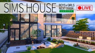 [LIVE] 【シムズ4】SIMS HOUSE【The Sims4】