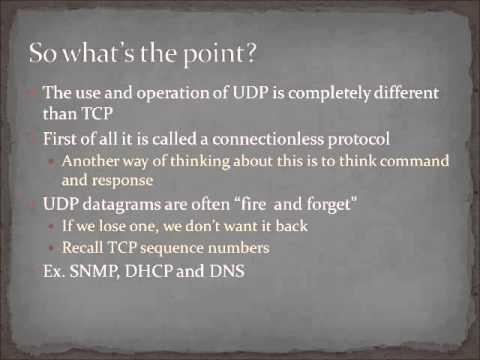 Chapter 10 - User Datagram Protocol