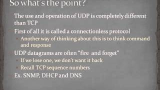 Chapter 10 - User Datagram Protocol