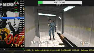 Goldeneye Any% 21:35.18 (Untied World Record)