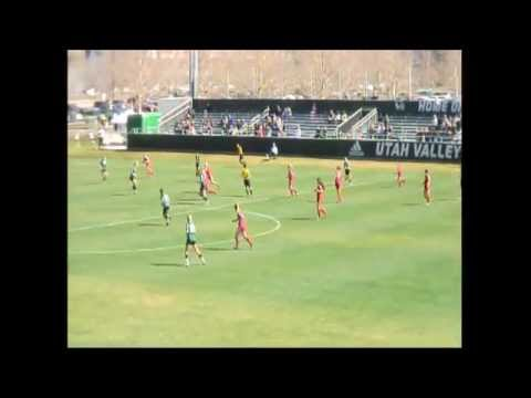 Real Salt Lake Women 2nd Team vs Utah Valley University 4/4/2015 (2nd Half)