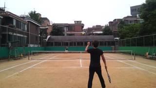 MJTA tennis game