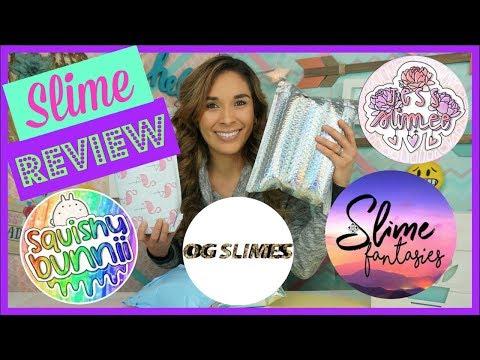 100 Honest Slime Package Review Snoop Slimes Squish
