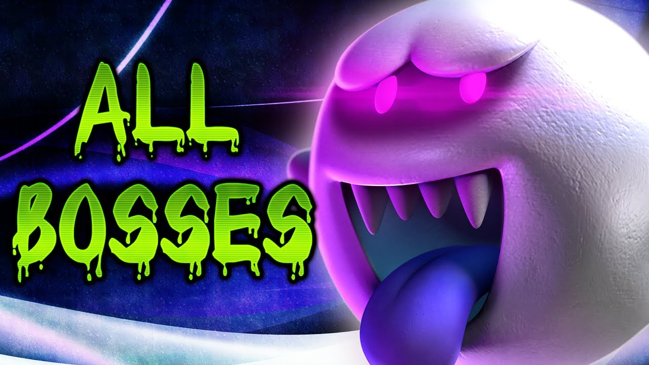 Luigi S Mansion Dark Moon All Boss Battles