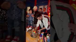 Aly Goni birthday bash in Kashmir
