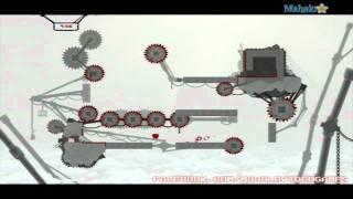 Super Meat Boy Walkthrough - Teh Internets - Remnants I-3 Clockwork