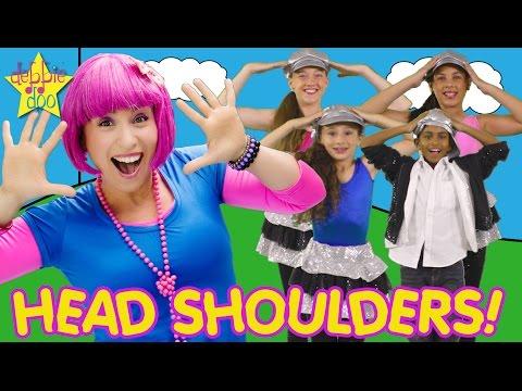 Head Shoulders Knees and Toes | Family Nursery Rhymes Series | Debbie Doo