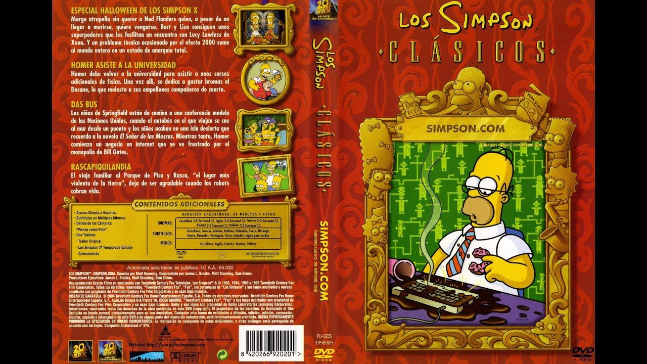 Foto Di Un Camino Acceso simpson (los simpson clásicos) (dvd)