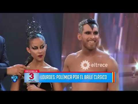 El fallido baile clásico de Lourdes Sánchez