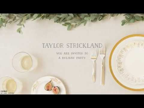 minted online invitations demo youtube
