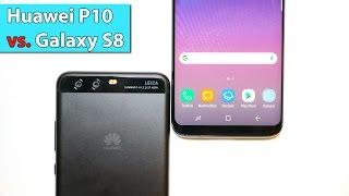 Vergleich: Samsung Galaxy S8 vs. Huawei P10 | deutsch