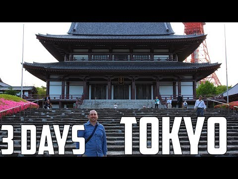 3 Days in Tokyo - Things To Do