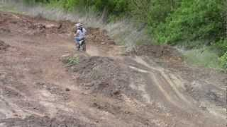 backyard pitbike track