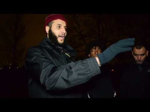 Shias Catch Sunni Mohammed Hijab in Speakers Corner