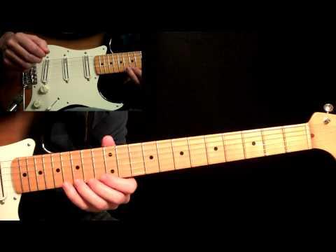 Awesome Eric Johnson Style Pentatonics Guitar Lesson - Rock - Blues - Metal - Fender Strat