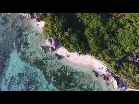 The Best of La  Digue Island # Seychelles News  04.2018 #5 Best Places to Visit# Drone DJI Phantom 4
