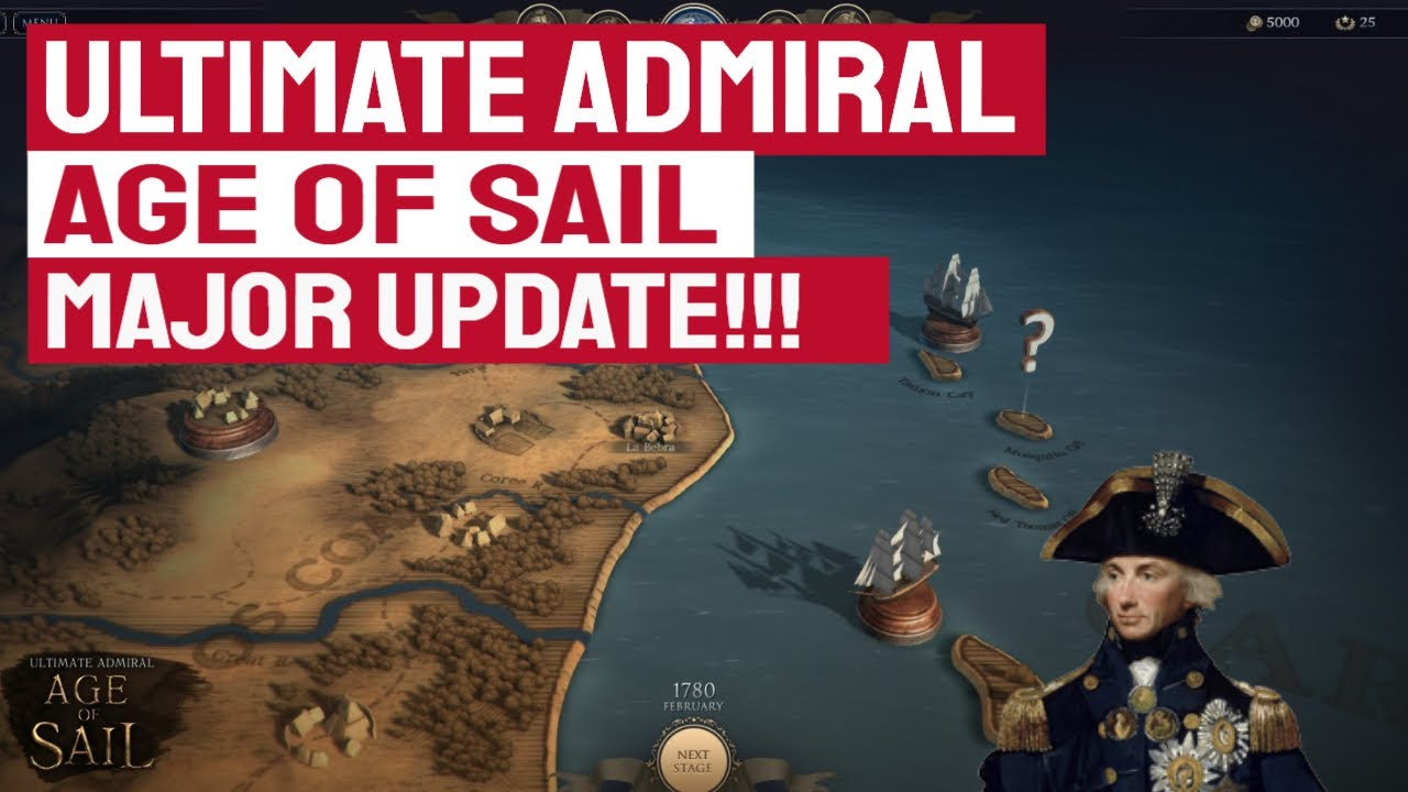 MAJOR UPDATE! - New DLC, New Game Engine/Graphic Update - Ultimate Admiral: Age of Sail
