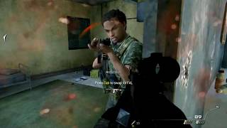 Call of Duty Modern Warfare 2 - Takedown - Game Play ( CODMW2 Campaign )