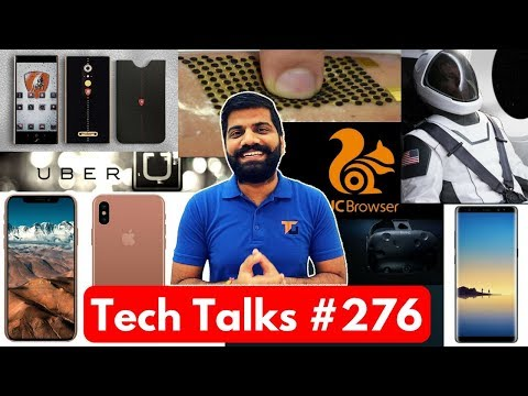 Tech Talks #276 - Note 8, Jio Phone Booking, iPhone 8 512GB, Nokia 6 Sale, SpaceX Suit, HTC Vive