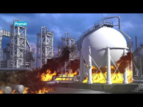 Promat fireproofing and fire & blast barriers for the Oil & Gas industry
