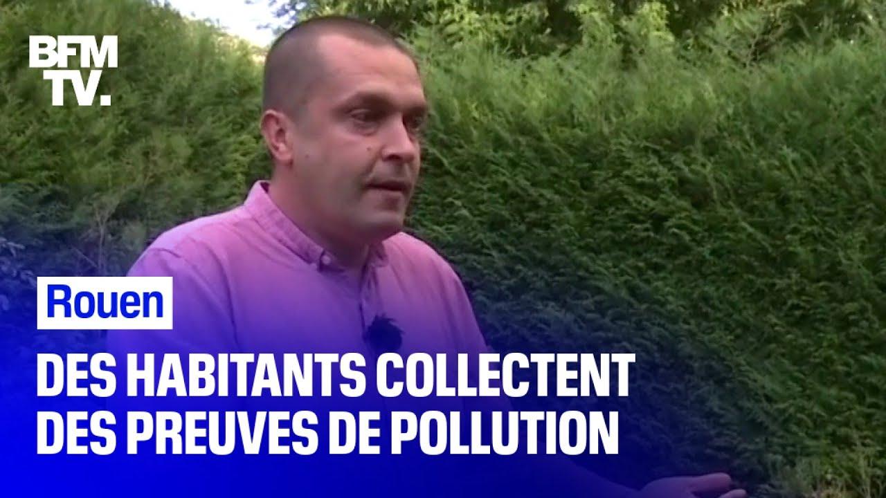 Des habitants de Rouen font appel à un huissier pour collecter des preuves de pollution