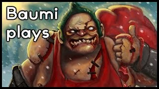 Dota 2 | THE GOAT HOOKER!! | Baumi plays Pudge