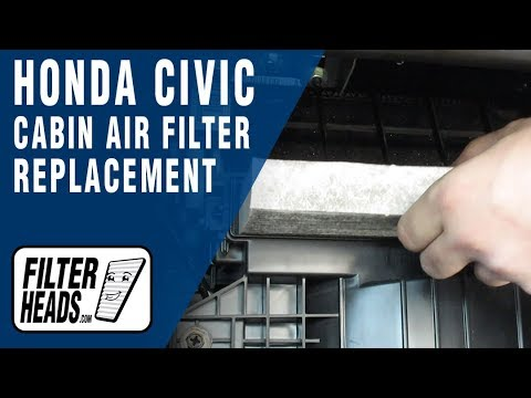 How to Replace Cabin Air Filter 2013 Honda Civic