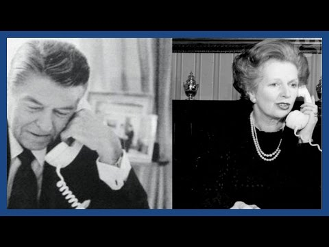 Ronald Reagan says 'sorry' to Margaret Thatcher in private phone call
