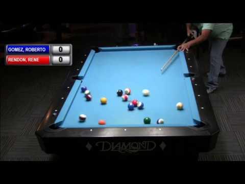 Match 7 Roberto Gomez vs  Rene Rendon , Big Tyme Billiards