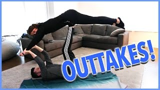 YOGA CHALLENGE OUTTAKES!