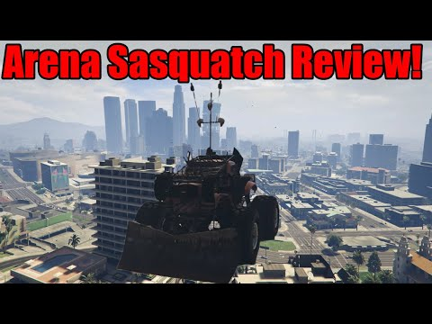 GTA Online Sasquatch Monster Truck Review A Great Arena Vehicle!