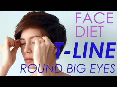 FACE DIET: 2 T-Line ROUND BIG EYES #iHealthiness