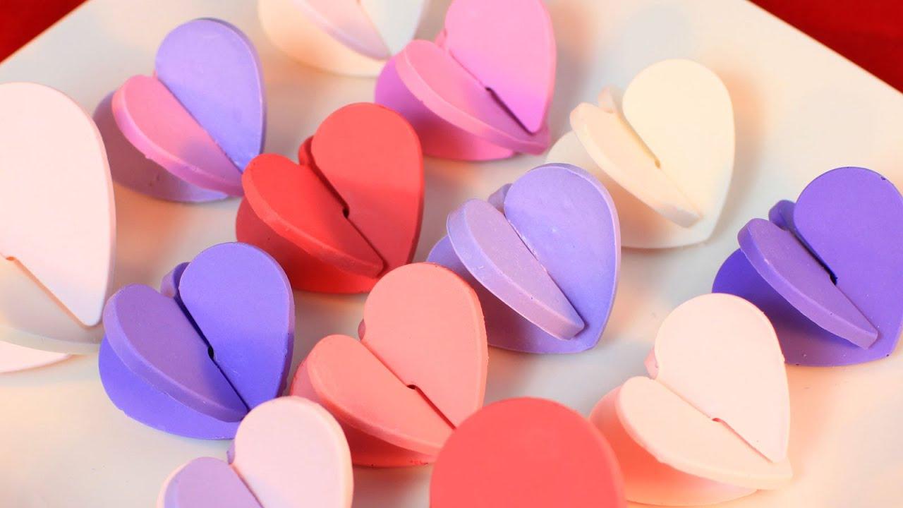 homemade valentines day chocolates youtube