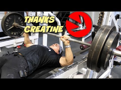 I Try Creatine For The First Time (And THIS Happens)
