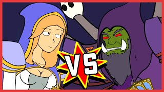 Jaina v Gul'dan: A Hearthstone Cartoon | Wronchi Animation