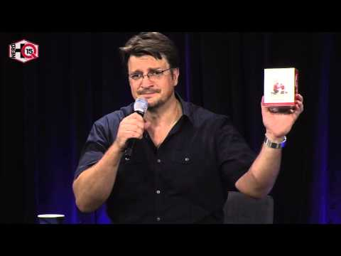 Nerd HQ 2015: A Conversation With Nathan Fillion (Day 4) - YouTube