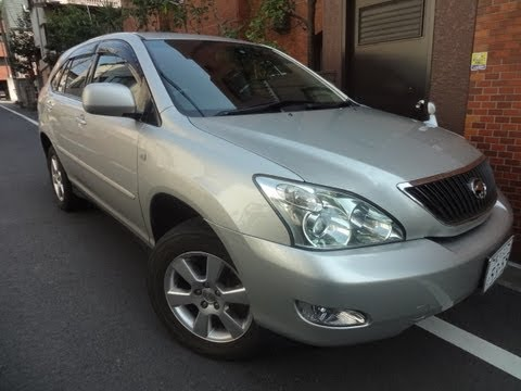 2004 Toyota Harrier 300 G L Package for sale Tokyo Japan - Lease ok (application approval required)