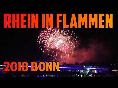 Rhein in Flammen 2018 Bonn [FullHD]