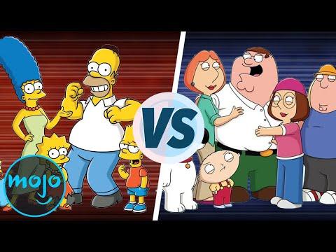 The Simpsons vs Family Guy