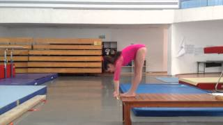 Age Group Programme – Women's Artistic Physical Ability Testing Programme - Flexibility - Exercise 6