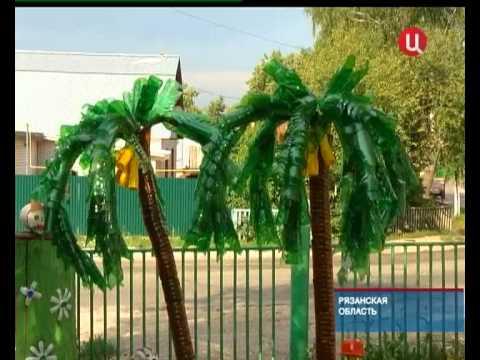 как сделать пальму из шины пошаговая инструкция - фото 7