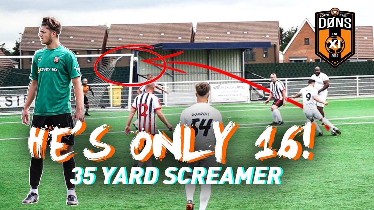 35 Yard Screamer HES ONLY 16 | SE DONS XI Sunday League Football