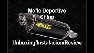 Escape Deportivo Para Moto Replica Yoshimura Unboxing Instalación Y Review En Italika Youtube